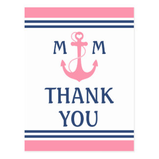 Nautical Thank You Post Cards