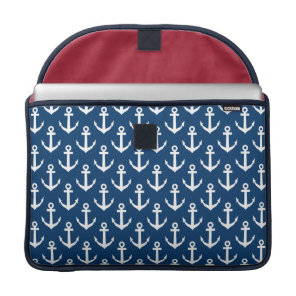Nautical theme MacBook Pro laptop sleeve | 15 inch