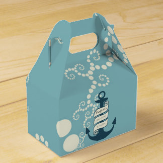 Nautical Theme Party Favour Boxes