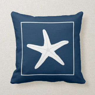 Nautical theme pillow
