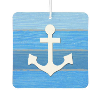 Nautical themed design car air freshener