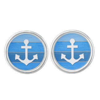 Nautical themed design cufflinks