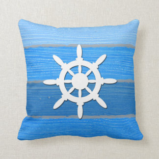 Nautical themed design cushion