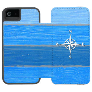 Nautical themed design incipio watson™ iPhone 5 wallet case