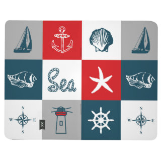 Nautical themed design journal