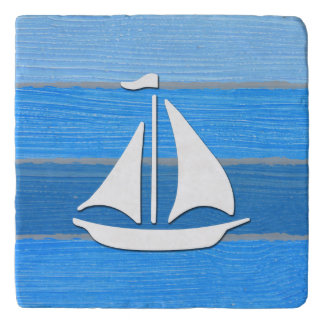 Nautical themed design trivet