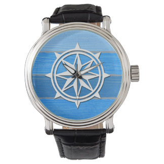 Nautical themed design wrist watches