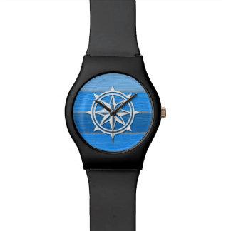 Nautical themed design wristwatch