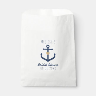 Nautical themed Favor Bags - Anchor Design