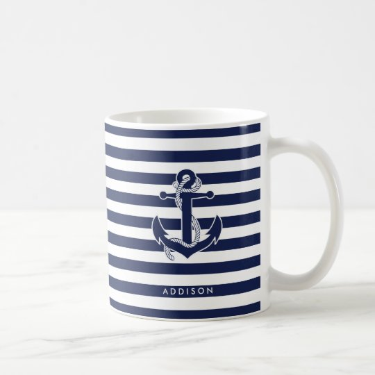 Nautical Themed Gifts Classic Mugs Personalised