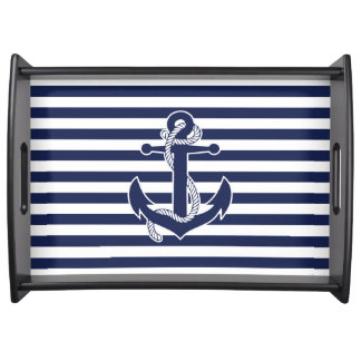 Nautical Themed Gifts Serving Tray Anchor