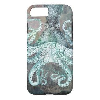 Nautical Vintage Octopus iPhone 7 Case