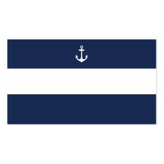 Nautical | Wedding Place Cards Pack Of Standard Business Cards