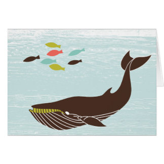 Nautical Whale All Occasion Card
