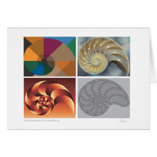Nautilus 4 views note card
