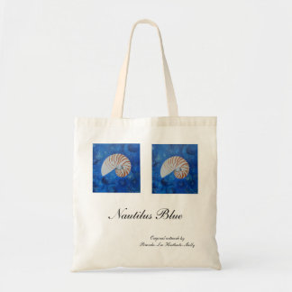 Nautilus Blue Tote Bag