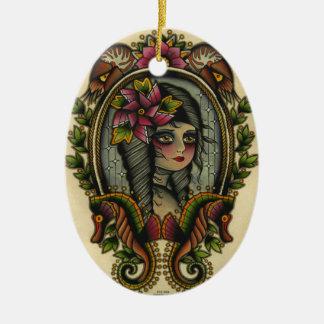 nautilus christmas ornament