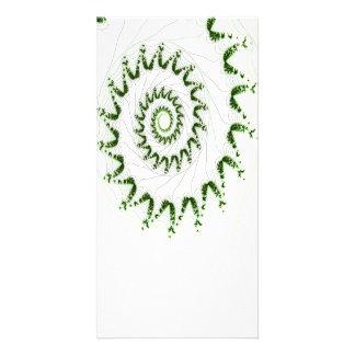 Nautilus Fractal Art Photo Card