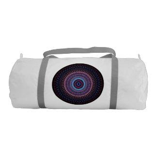 Nautilus kaleidoscope gym duffel bag