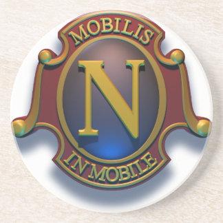 Nautilus N Shield by David McCamant Coaster