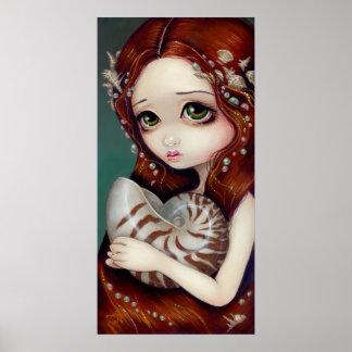 Nautilus Princess Art Print