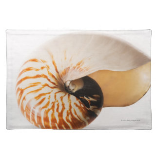 Nautilus seashell (Nautilus stenomphalus) Placemat