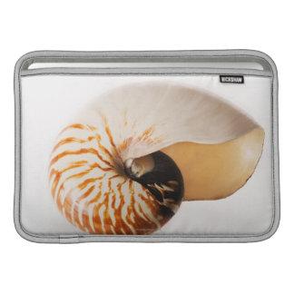 Nautilus seashell (Nautilus stenomphalus) Sleeve For MacBook Air
