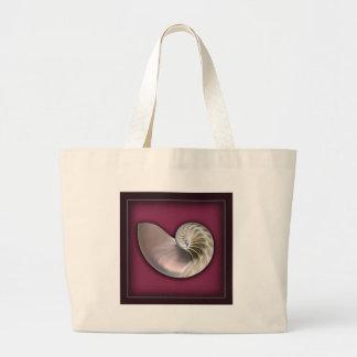 Nautilus shell bag