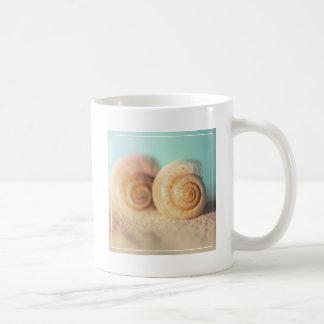 Nautilus Shells On Beach Coffee Mug
