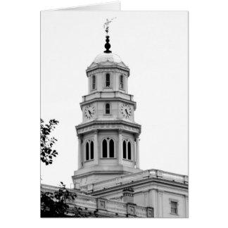 Nauvoo Temple Tower Card