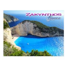 Zakynthos Postcards Zazzle Uk