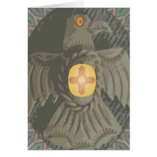 Navaho Eagle Card