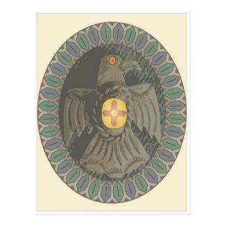 Navaho Eagle postcard