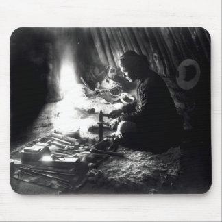 Navaho silversmith, c.1915 mouse pad