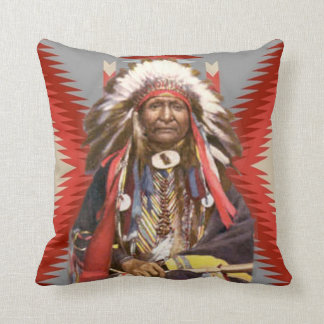 Navajo Chief Cushion