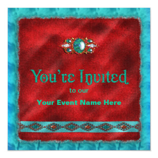 Navajo Design - Invitation - Multi-Purpose