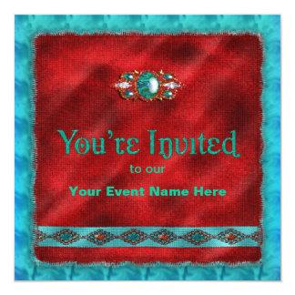 Navajo Design - Invitation - Multi-Purpose