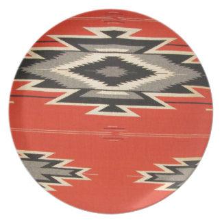 Navajo Designs Plate