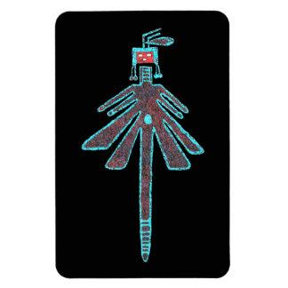 Navajo Dragonfly, Insect Mythology Rectangular Photo Magnet