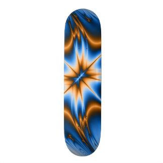 Navajo Fractal Star Skate Board Deck