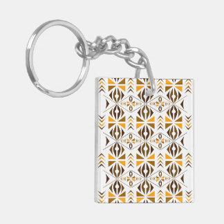 Navajo Acrylic Key Chain