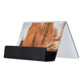 Navajo Loop Trail, Bryce Canyon Desk Business Card Holder