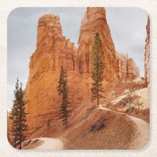 Navajo Loop Trail, Bryce Canyon Square Paper Coaster