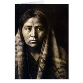 Navajo Matron Greeting Card