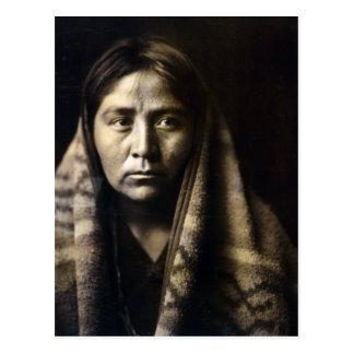 Navajo Matron Postcard