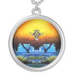 Navajo Moon - Necklace