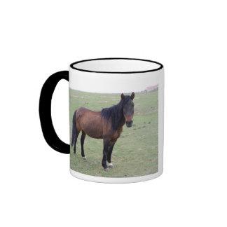 Navajo Mustang Ringer Coffee Mug