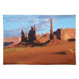 Navajo Nation, Monument Valley, Yei Bi Chei Placemat