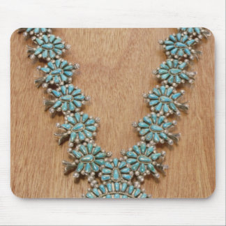 Navajo necklace mouse pad