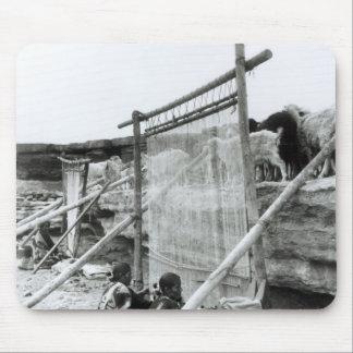 Navajo weavers, c.1914 mouse pad